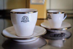 Tassen Le Pedaleur Cappuccino weiss