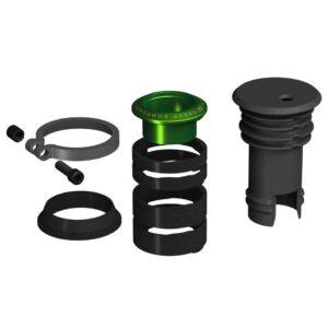 EDC Top Cap + Preload Kit green - OneUp Components