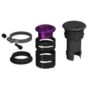 EDC Top Cap + Preload Kit purple - OneUp Components