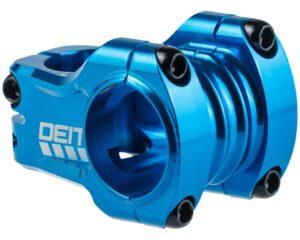 Deity Copperhead Vorbau 35 mm Länge, 31.8 mm Lenkerklemmung. Blue.