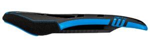 Deity Sidetrack I-Beam Sattel. Black/Blue.