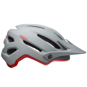 4forty MIPS Helmet matte/gloss gray/crimson,M M-Nr: 1701800008
