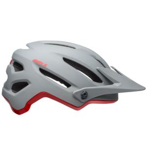 4forty MIPS Helmet matte/gloss gray/crimson,L M-Nr: 1701800008